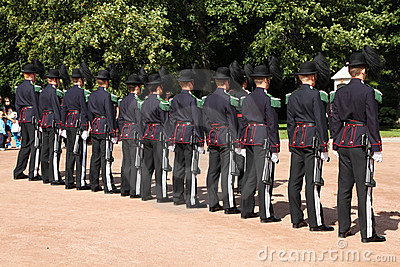 Royal guard in Norway Editorial Image