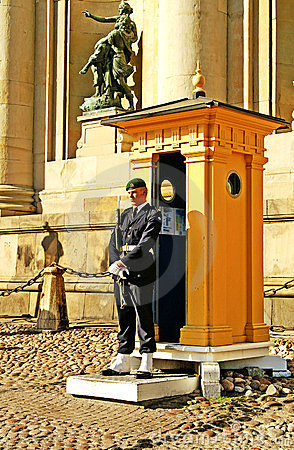 Royal Guard of Sweden Editorial Stock Image
