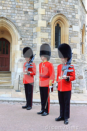 Royal Guards Editorial Stock Photo