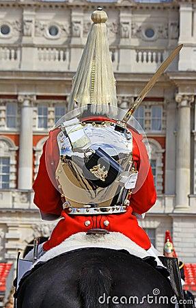 Free Royal Horse Guard Royalty Free Stock Photography - 9309417