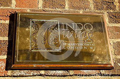 Royal Hospital sign, Paddington Editorial Stock Photo