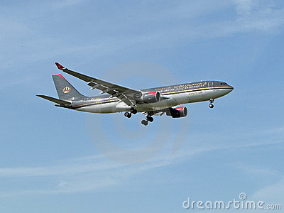 Royal Jordanian Editorial Image