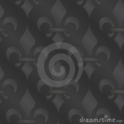 Royal lily seamless background
