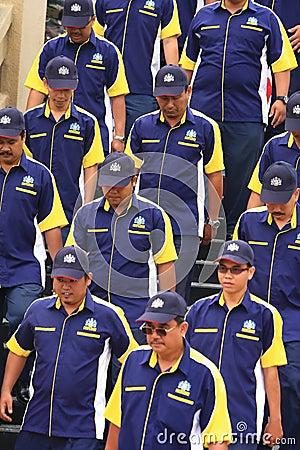 Royal malaysian customs Editorial Image