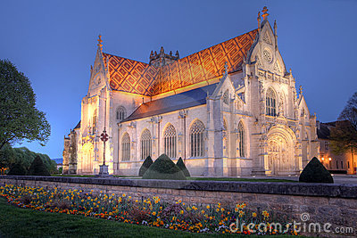 Royal Monastery of Brou, Bourg-en-Bresse, France