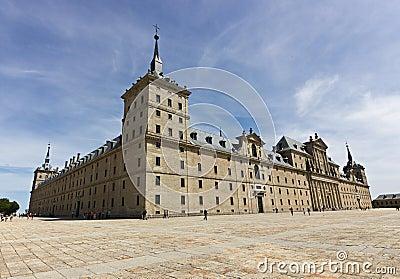 Royal Monastery facade Editorial Photography