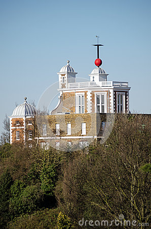 Royal Observatory and hour marker, Greenwich