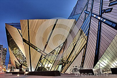 Royal Ontario Museum Editorial Stock Photo