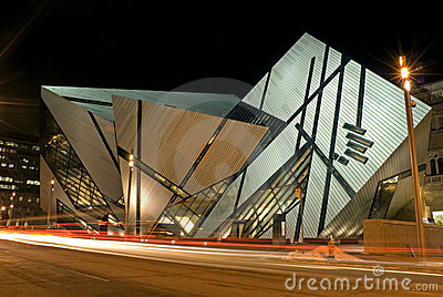 Royal Ontario Museum in Toronto Editorial Image
