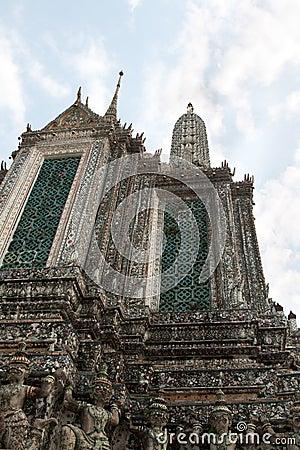 Royal palace in Bangkok Thailand