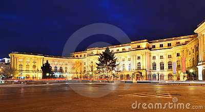 Royal Palace in Bucharest, Romania