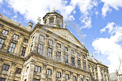 The Royal Palace in Dam, Amsterdam