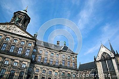Royal Palace em Amsterdão