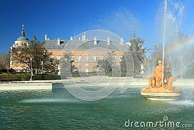 Aranjuez - royal garden and palace