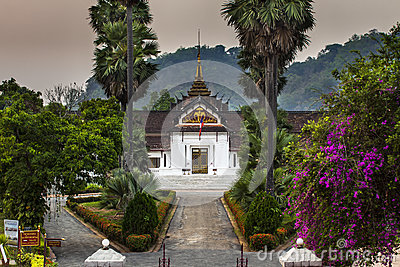 Royal Palace(Haw Kham) in Luang Prabang, Laos.