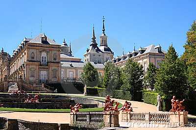 Royal Palace of La Granja de San Ildefonso (Spain)