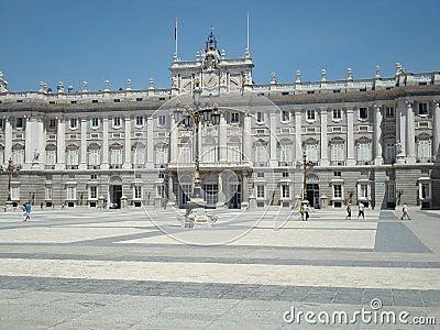 Royal Palace of Madrid Editorial Photo