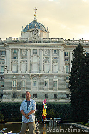 Royal Palace of Madrid. Editorial Photography