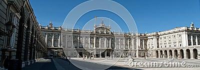 Royal Palace of Madrid Editorial Image