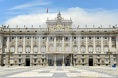 Royal Palace of Madrid, Spain