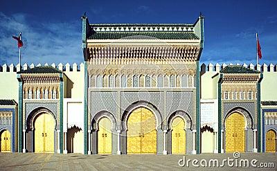 Royal palace Marrakesh