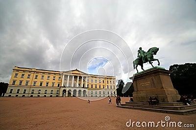 Royal Palace, Norway, Oslo.