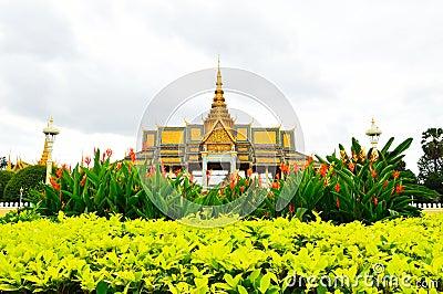 The Royal Palace Park, Phnom Penh, Cambodia