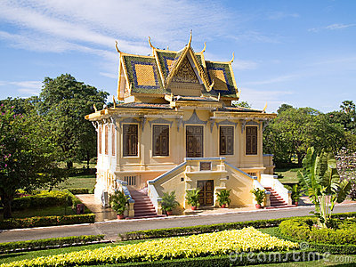 The Royal Palace in Phnmom Penh, Cambodia