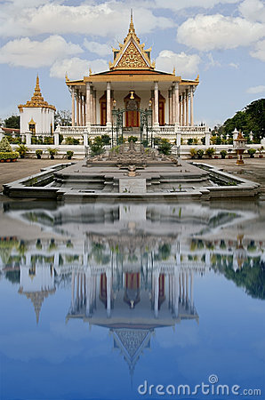 Royal palace, Phnom Pen, Cambodia