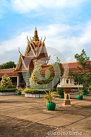 Royal Palace in Phnom Penh, Cambodia