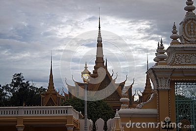 Royal Palace in Pnom Penh