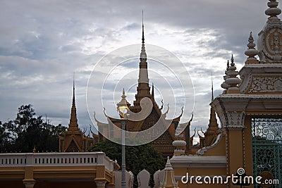 Royal Palace in Pnom Penh