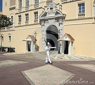 Royal Palace - Principality of Monaco Editorial Photography