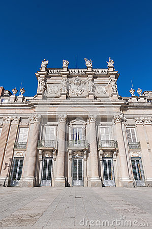 Royal Palace at San Ildefonso, Spain