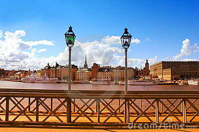 The Royal Palace in Stockholm, Sweden