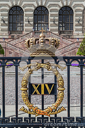 The Royal Palace of Sweden Editorial Photography