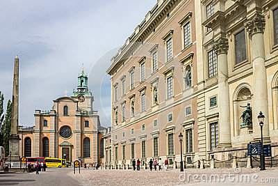 The Royal Palace of Sweden Editorial Image