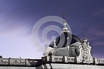 Royal Palace van Madrid