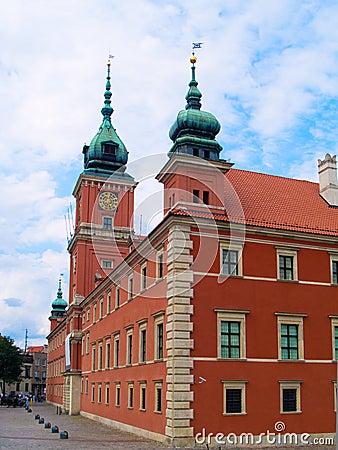 Royal palace, Warsaw, Poland