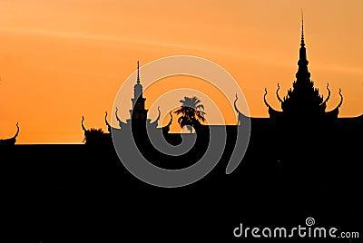 Royal Palace, Pnom Penh, cambodia.