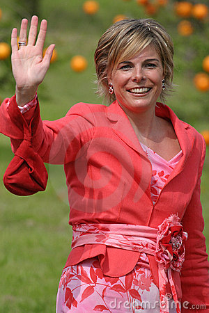 Royal princess Laurentien Editorial Photo