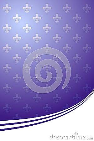 Royal purple elegant background