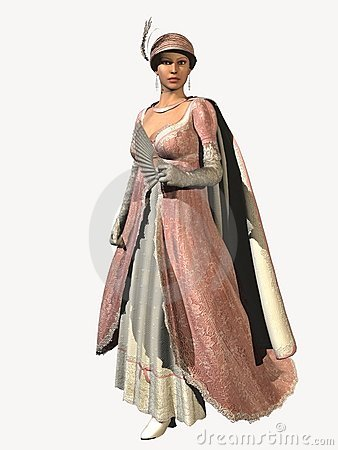 Royal Regency  Evening Fashion
