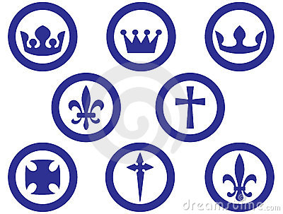 Royal and religion signs