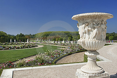Royal residence Versailles Editorial Stock Photo