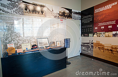Royal Rooters Club at Fenway Park Editorial Stock Photo