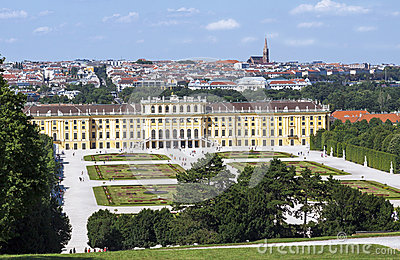 Royal Schonbrunn palace