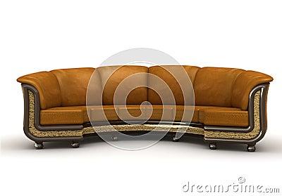 The royal  sofa
