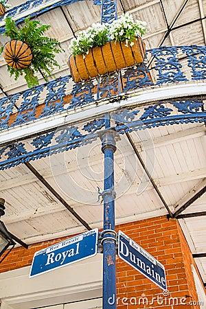 Free Royal Street Sign Stock Photos - 40676653