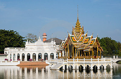 The Royal Summer Palace in Bang Pa In, Thailand